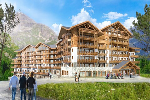 Tignes 1800 summer altaviva apartments