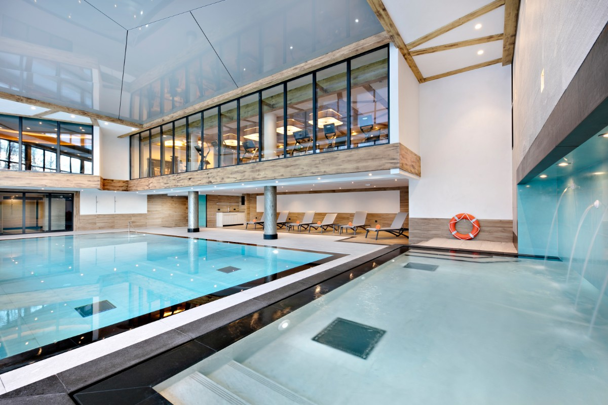 Elena, Les Houches (self catered apartments) - Indoor pool