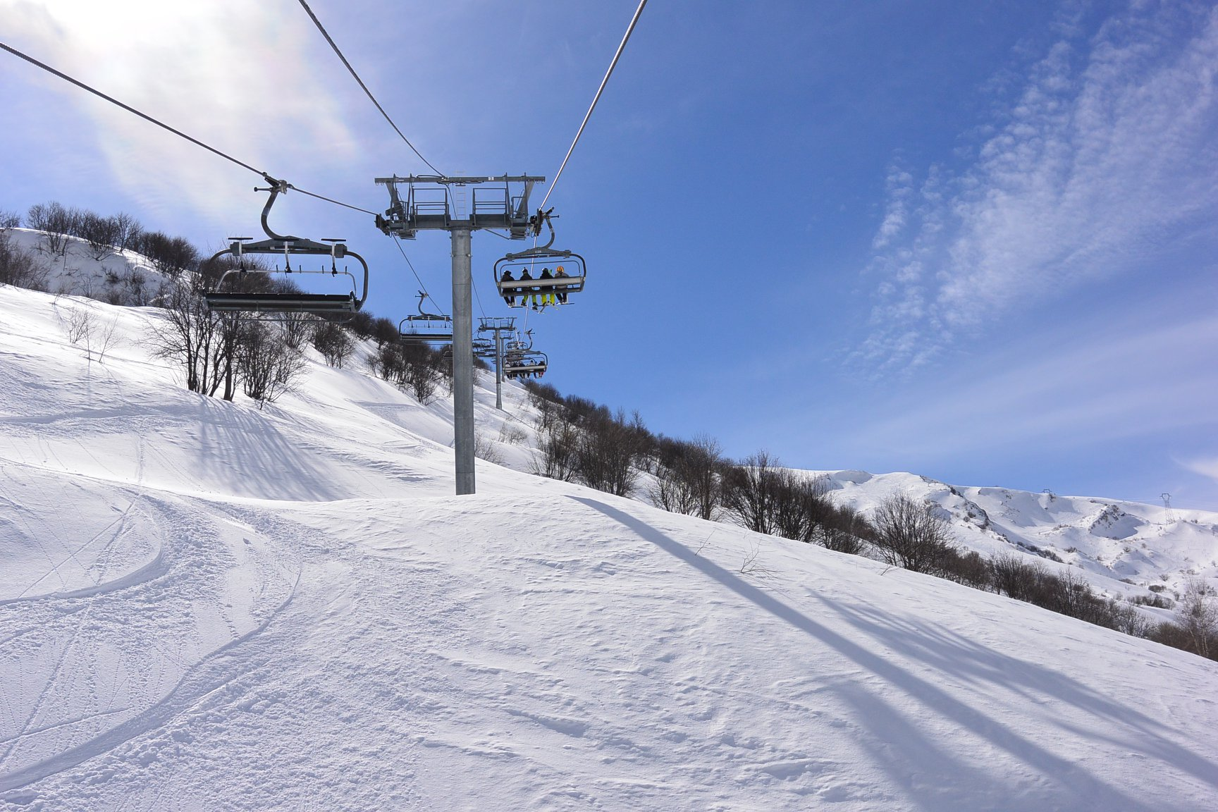 Valmorel in March
