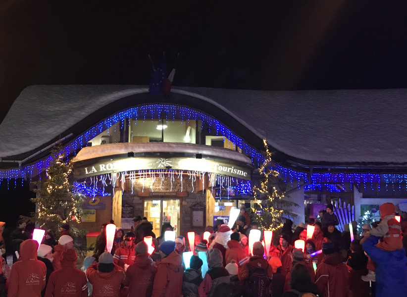 Father Christmas Tourist Office La Rosiere