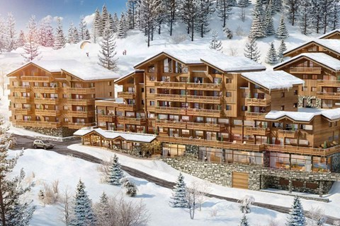 Lodge des Neiges Tignes 1800 apartments