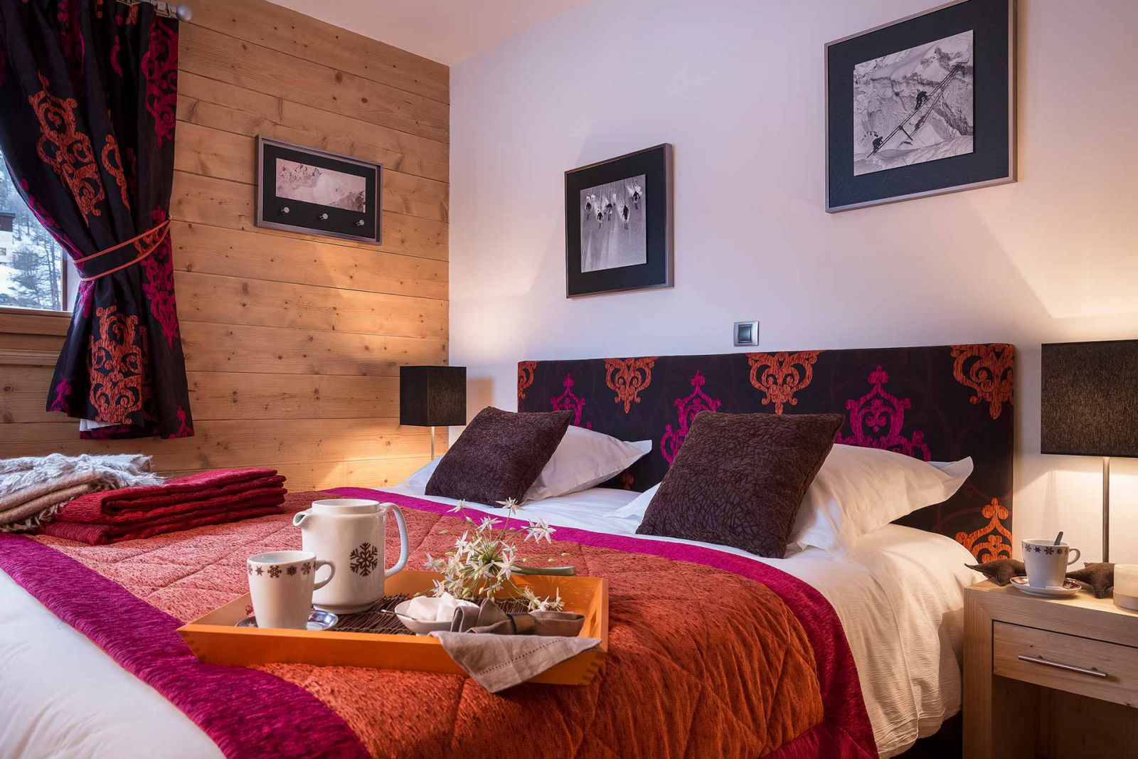 Le Lodge des Neiges, Tignes 1800 (Self catered apartments) - Typical interior style