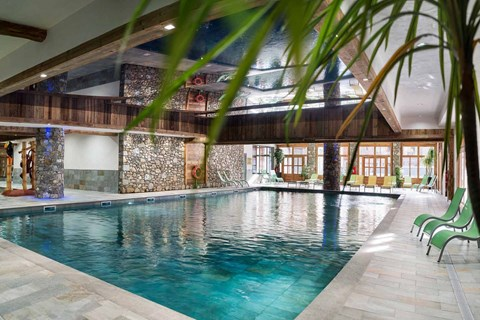 Lodge des Neiges Tignes 1800 swimming pool leisure centre